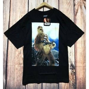 New Star Wars Chewbacca T- Shirt Tee
